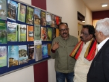 Visit of Honourable Minister of Culture, Govt. of Kerala to our Exhibition mounted at Eastern Regional Centre, Kolkata