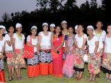 Nicobarese-girls-as-Ambassdors,-ZAM,-Port-Blair
