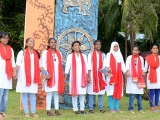 Nukad-Natak-by-NSS-girls-for-Museum-Awareness-among-the-public-at-Port-Blair